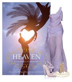 """""""Heaven - Alexandra Adornetto"""" by ninette-f ❤ liked on Polyvore featuring Paper Dolls, Capwell + Co and Kenneth Jay Lane"""