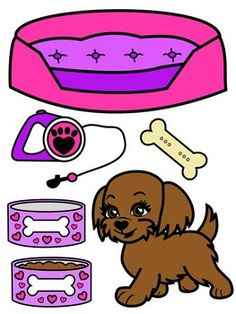 Puppy Dog Clip Art - Jojo Siwa Inspired Clip Art by Molly Tillyer Dog Clip Art, Fall Clip Art, Love Math, Fun Math, Halloween Clipart Free, Apple Clip Art, Scrapbook Paper Organization, Animal Graphic, Cute Clipart