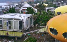 As-tu déjà oublié ?: Venturo and Futuro houses - Wanli town - Taiwan