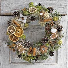Christmas wreath, christmas spice