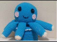 Crochet Quick and Easy Beginner Cute Octopus and small Crochet Basket DIY Tutorial