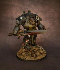 40k - Black Templar Contemptor Dreadnought