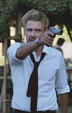 Matt Ryan as Constantine ❤❤❤ and always will Constantine Tv, Matt Ryan Constantine, Constantine Hellblazer, Words To Describe, Love Him, Dc Comics, Take That, Green Arrow, Actors