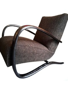 "Jindrich Halabala ""H269"" lounge chairs. 1940 - Object D'epoch"