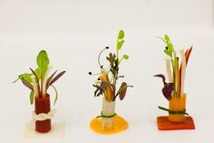 Creative dishes - this one is from the New Covent Garden Market event