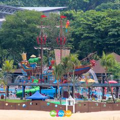 Port of Lost Wonder, Sentosa.   Photo from https://www.facebook.com/littledayout.sg
