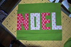 Noel Paper-Pieced Quilt Block