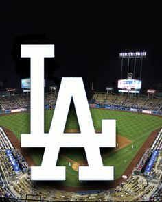 LA Dodgers logo and Dodger Stadium as background screen for Apple Watch. If you have an Apple Watch, this image will fit both Apple Watch size screens.