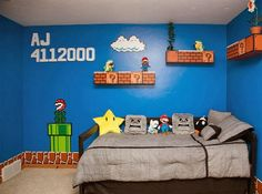 Dustin Carpenter  has constructed a creative bedroom for his 13 year old daughter with full of cha...