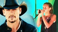 Tim McGraw Songs - Lyrics | I'm impressed! Audrey McGraw is a great singer! And with parents like Tim McGraw and Faith Hill it's no mystery where she may have gotten her talent!...