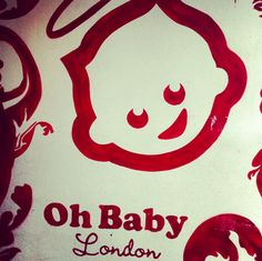 Oh Baby London Mural outside of our shop. 162 Brick Lane, London, E1 6RU - Come and say hello! :)