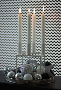 KUBUS Advent candle decoration