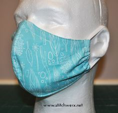 Mar 2020 - Sew a fitted Face Mask with this FREE PDF Sewing pattern from Stitchwerx Designs. This Face Mask Sewing Pattern includes 4 sizes to fit children to adults. This face mask is lined and has a pocket so you can add an extra filtration layer. Sewing Hacks, Sewing Tutorials, Sewing Crafts, Sewing Projects, Sewing Tips, Dress Tutorials, Easy Face Masks, Diy Face Mask, Homemade Face Masks