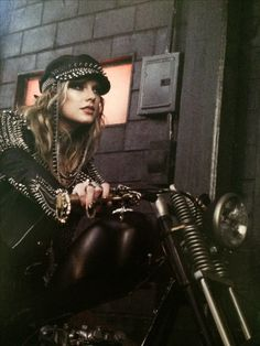 Biker chick Taylor! Look What You Made Me Do!