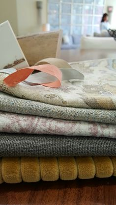 Fabric Combinations, Luxury Furniture, Custom Fabric, Fabrics, Curtains, Check, Happy, Home Decor, Tejidos