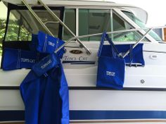Our totes are GREAT on the boat!  Picnic thermal, large utility tote, organizing utility tote.