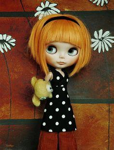 My new girl ( Prima dolly Mang) slightly customised by Ludhye, via Flickr