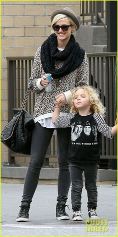 Ashlee Simpson and Bronx - NYC  Credit: PacificCoastNewsOnline