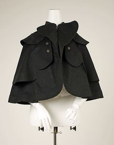 French wool cape 1897-98