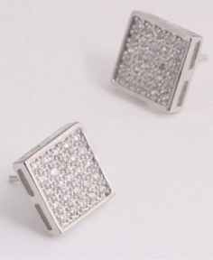 This beautiful Vintage 925 sterling silver Diamond studs will paired lovely with our silver crystal lockets.