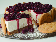 """Cheese Cake με """"Digestive"""" ΠΑΠΑΔΟΠΟΥΛΟΥ Pastry Recipes, Sweets Recipes, Cake Recipes, Cooking Recipes, Greek Desserts, Party Desserts, Sweets Cake, Cupcake Cakes, Cupcakes"""