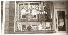 Former Vance Sporting Goods on East 8th Street
