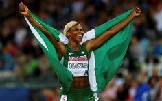 Nigeria's top sprinter and Beijing 2008 Olympic medalist, Blessing Okagbare, has…
