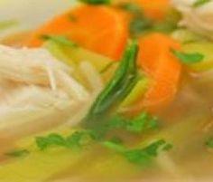 """Hühnersuppe – dem Schnupfen ein Schnippchen – mit der """"Gemüse-/Reis-Option"""" von HartmutScholl auf www.rezeptwelt.de, der Thermomix ® Community"""