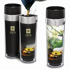 16 oz double walled biodegradable acrylic tumbler with custom heat insert design. Spill proof lid.