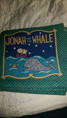 Cloth book Jonah and the Whale
