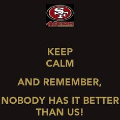 Noooooooobody!    #SF49ers #SanFrancisco #49ers