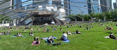 Saturday and Wednesday AM Workouts in Millennium Park