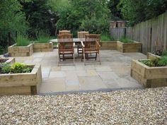 Large, north facing garden for growing fruit and vegetables | Jardin Design