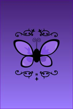 Anna Sui inspired wallpaper for iPhone Anna Sui Butterfly for iPhone Purple Art, Purple Love, Purple Butterfly, All Things Purple, Shades Of Purple, Purple And Black, Pink Purple, Wallpaper Backgrounds, Iphone Wallpaper
