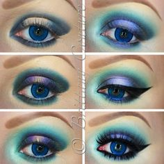 .@brittanycouturexo | TUTORIAL To prep my eyes I applied BSC eye  lip primer and special cover...