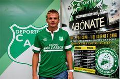 #CaliCo. Cristian Nasuti fue presentado como nuevo jugador del Deportivo Cali