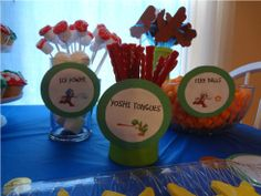 mario party snacks