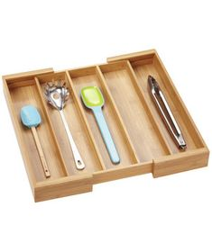 Partitioned Tray | These clever tools will help organize your messiest rooms—once and for all.