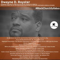 Bishop Dwayne Royster shares his reading list for the Howard Thurman, United Church Of Christ, Black Church, Reading Lists, Learning, Pastor, Study, Teaching, Studying