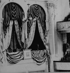 Box in Ford's Theater where Lincoln was shot