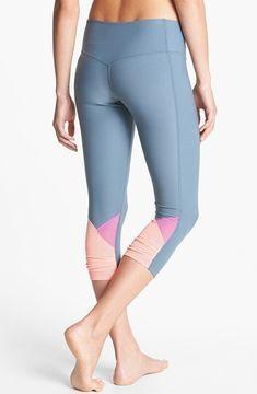 f2aa18e1277c3 Onzie Low Rise Capri Pants available at #Nordstrom | Sport Wear | Pinterest  | Capri pants, Pants and Nordstrom
