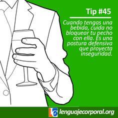 Tip 45: Cuando tienes una bebida