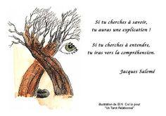Page consacrée à des extraits de textes de Jacques Salomé Quote Citation, Dire, Communication, God, Quotes, So True, Cute Stuff, Thinking About You, Beautiful Words