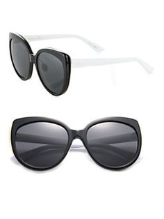 Dior - Modified 57MM Cat's-Eye Sunglasses