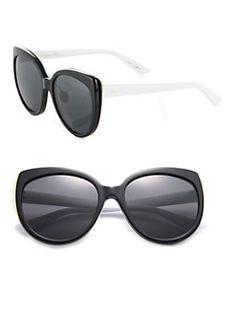 Dior - Modified 57MM Cat's-Eye Sunglasses