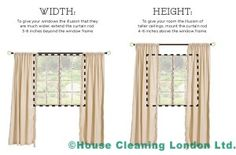 Curtain hanging tricks  http://cleaners-tips.housecleaninglondon.co.uk/3-huge-mistakes-to-avoid-when-hanging-out-your-curtains/