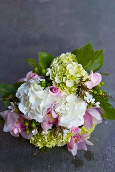 ❧❧Beautiful, I love hydrangea   thefleurist.blogspot.com