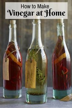 How to Make Vinegar at Home - http://www.thebudgetdiet.com/how-to-make-vinegar-at-home?utm_content=snap_default&utm_medium=social&utm_source=Pinterest.com&utm_campaign=snap