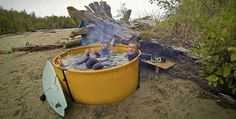 This portable hot tub lets you enjoy a warm, relaxing bath anywhere you want » Lost At E Minor: For creative people