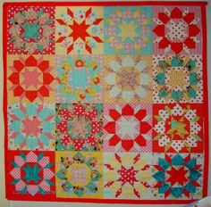 Love Jaye's version of Swoon!  Great colors and fabrics!  On Artquiltmaker Blog.